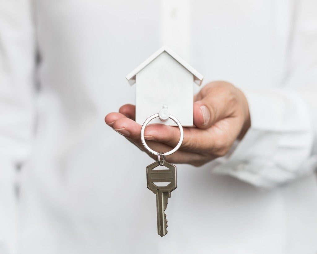 key to a new house